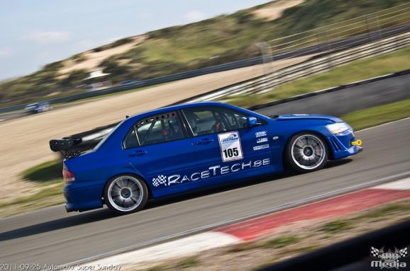 RaceTech EVO VII spec3 2011 zandvoort timeattack